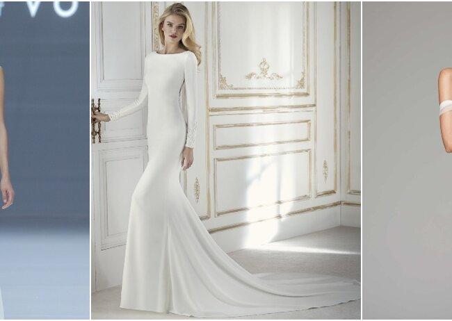 Vestidos de novia sencillos argentina