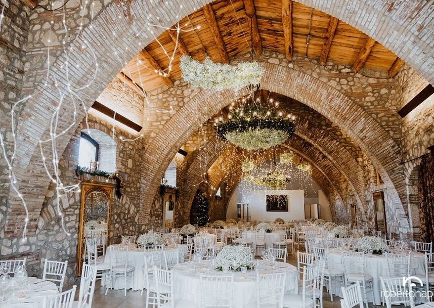Choose Masseria Roseto for a reception location immersed in history and nature…