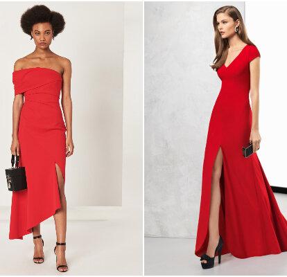 45 Vestidos De Fiesta Rojos 2019 Rompe Esquemas Con Tu