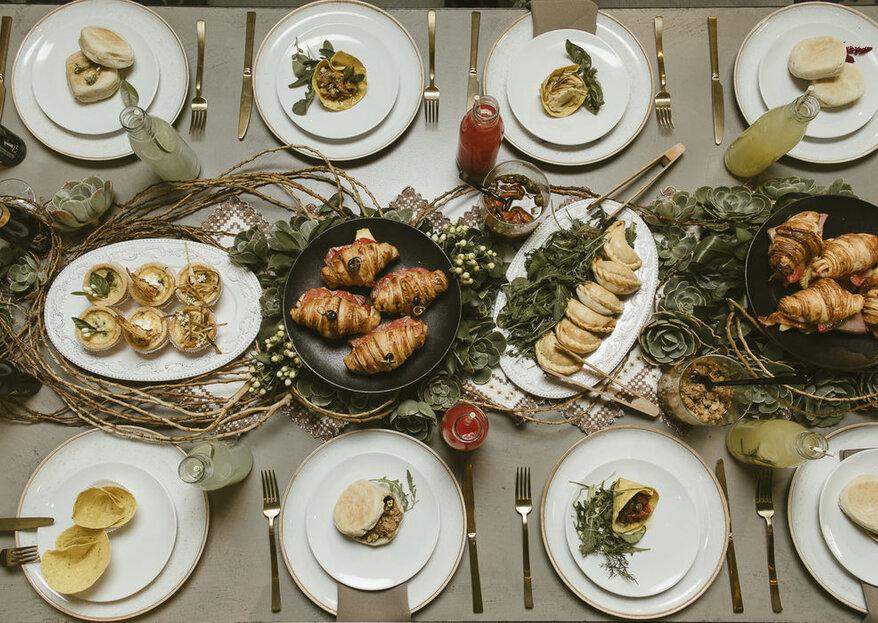 7 recomendaciones de expertos para el menú de tu boda