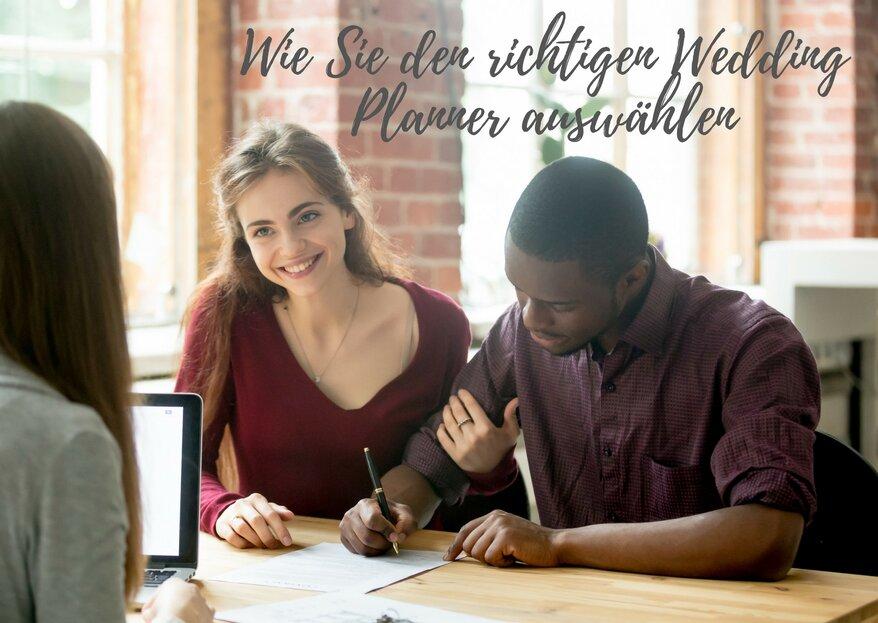 So finden Sie den perfekten Hochzeitsplaner - die richtige Unterstützung für Ihre Traumhochzeit