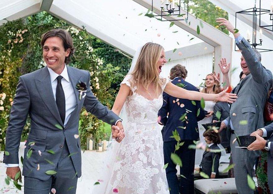 La boda de Gwyneth Paltrow ¡Glamour y romanticismo en su máxima expresión!