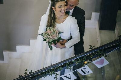 Increíble y emocionante: la boda de Teresa y Miguel Ángel