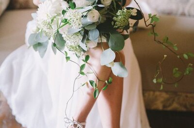 Los zapatos con taco blanco vuelven a ser tendencia entre novias e invitadas