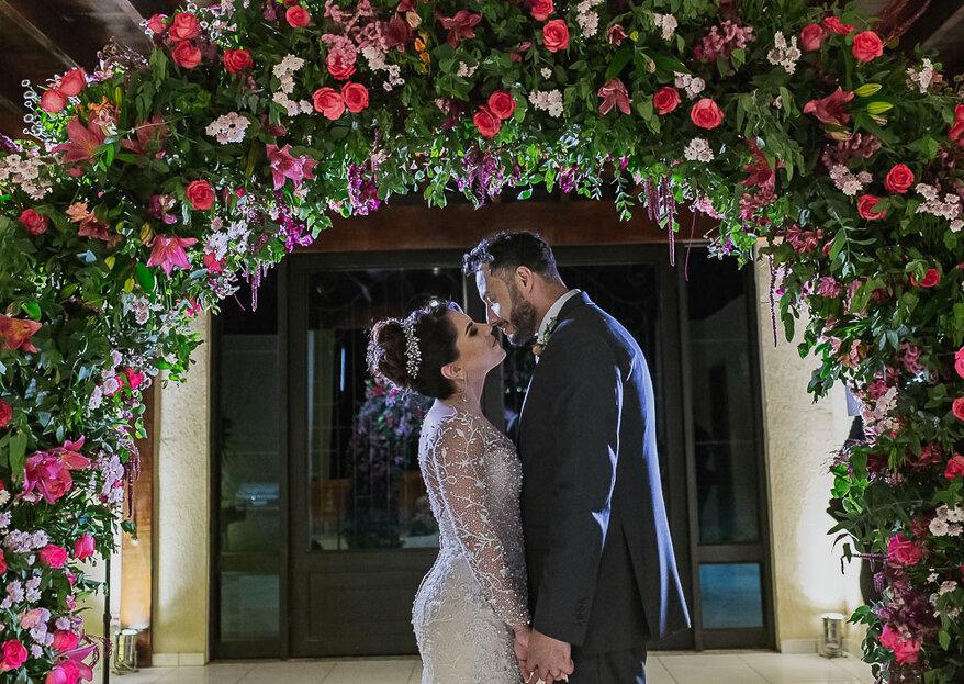 Daniela e Alan: realização de um sonho de casamento no Alpendre Garden Hall