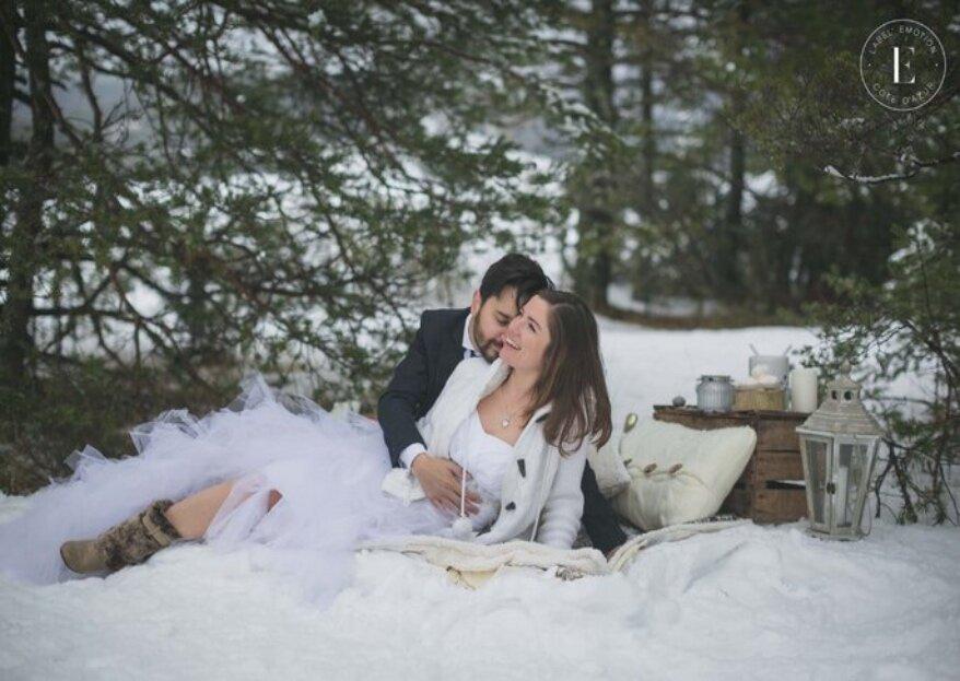 Mariage en hiver : 10 raisons d'organiser sa cérémonie sous la neige