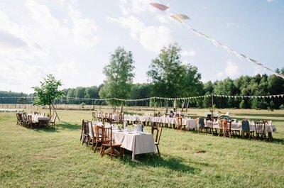 Как создать свадьбу в стиле рустик? Все необходимое для незабываемого дня!