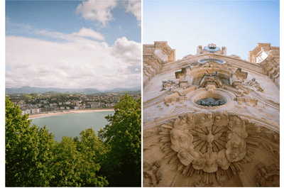Real Wedding: Una boda mágica en San Sebastián, España