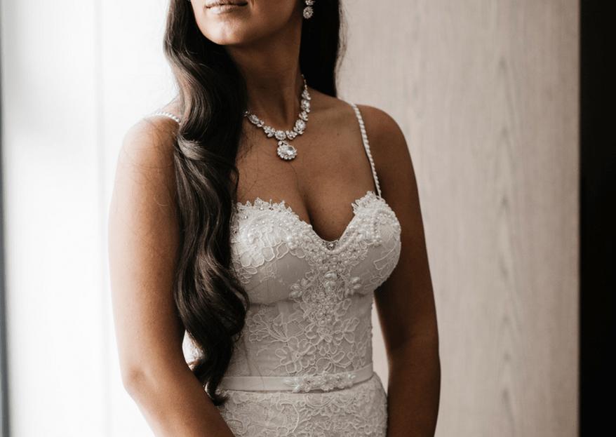 Cómo elegir el escote de mi vestido de novia. 5 consejos para acertar