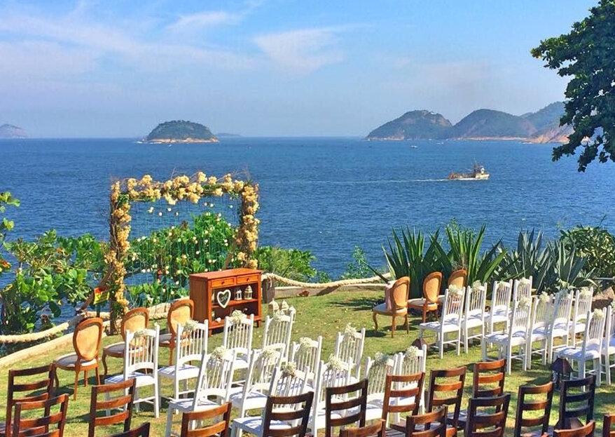 10 melhores lugares para casamento em Niterói: uma lista para todos os estilos de casamento!