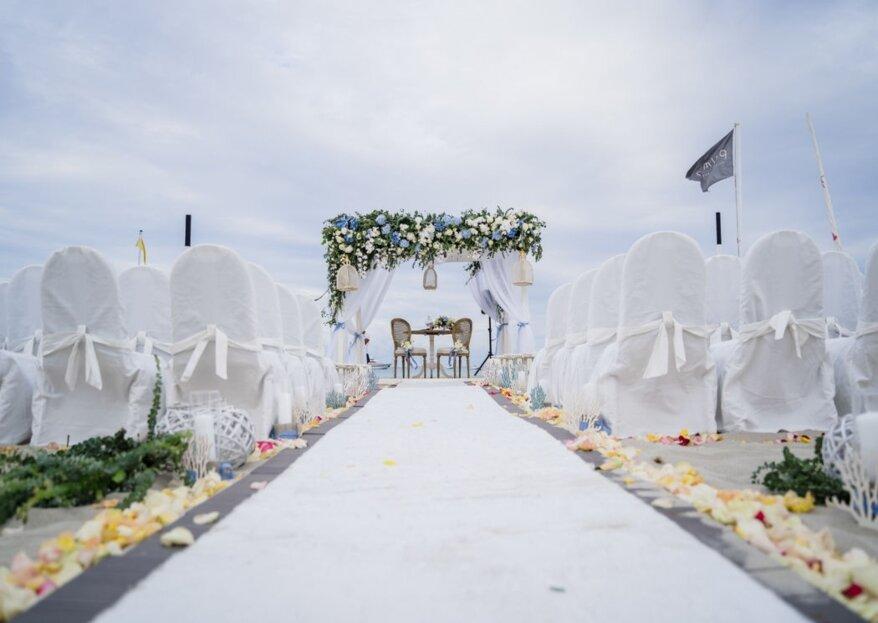 L'unione fa la forza, soprattutto durante le nozze: Uno due tre Wedding!