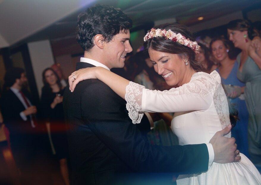 Una bella historia fruto de la maravillosa casualidad: la boda de Marta y Alejandro