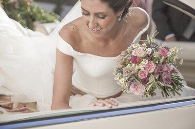 Um casamento rústico e alegre