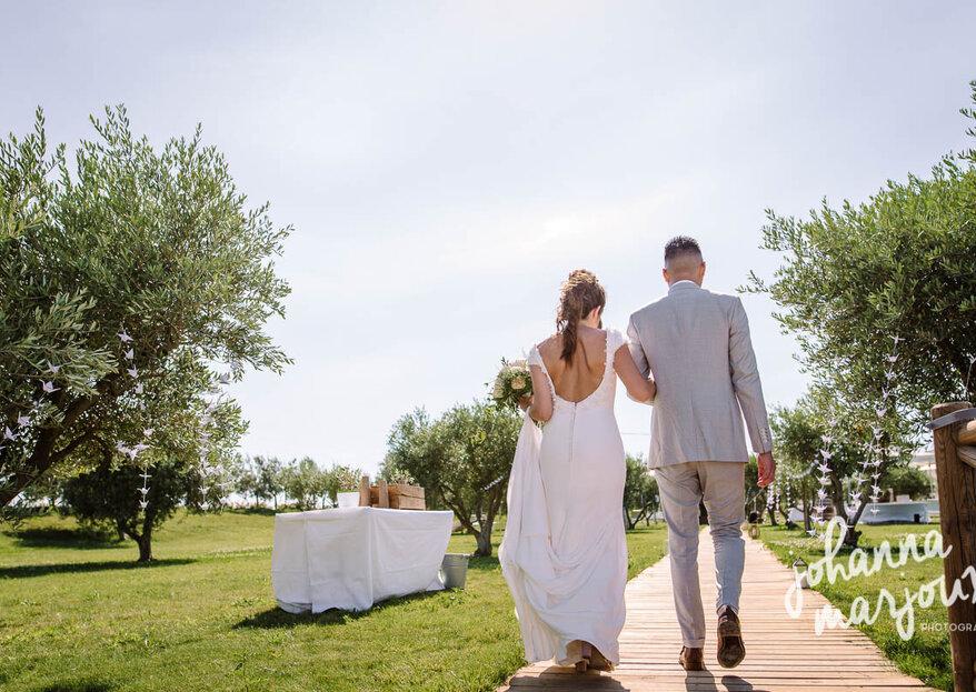Mariage au milieu des vignes : romantisme assuré au Domaine Enclos de la Croix