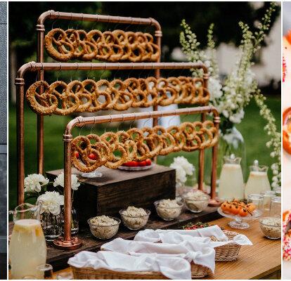 Tolle Ideen Fur Eine Brezel Bar An Der Hochzeit