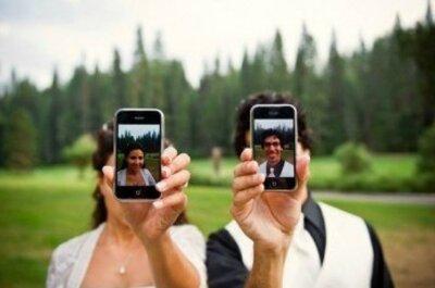 Cuando cada invitado es también fotógrafo (o cómo NO competir por la mejor foto de la boda)