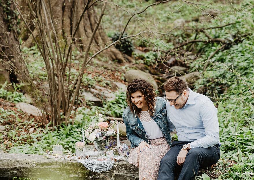 Die zauberhaften Verlobungsfotos von Ylenia & Thomas