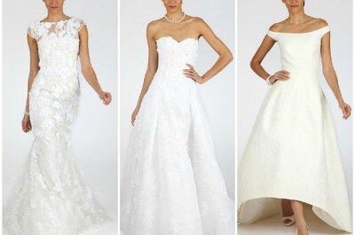 Collection Oscar de la Renta automne 2013 pour mariées modernes et romantiques !