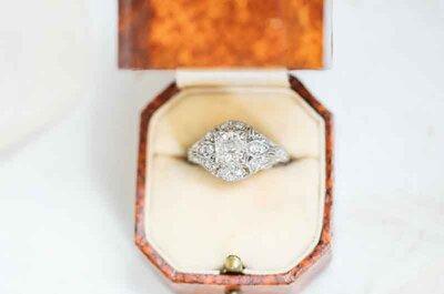 Características del anillo de compromiso perfecto: La regla de las 4 C's