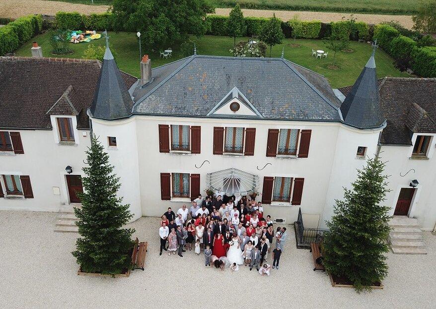 Organisez votre mariage chic et champêtre au Domaine Saint-Pierre