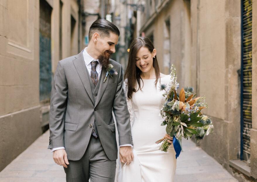 Una elegancia sublime: la boda de Azahara y Antoni