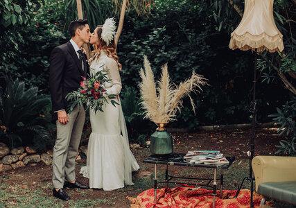 """Una boda en la que no faltó la buena música y la moda: el """"sí, quiero"""" de Marta y José Ángel"""