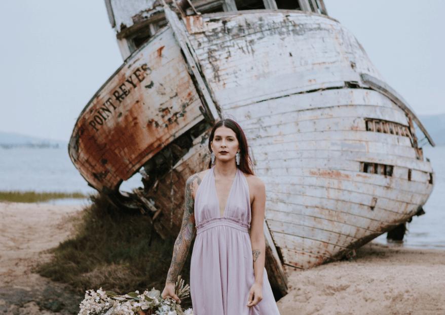Styled Shoot: Una novia alternativa y bohemia que nos inspira al máximo