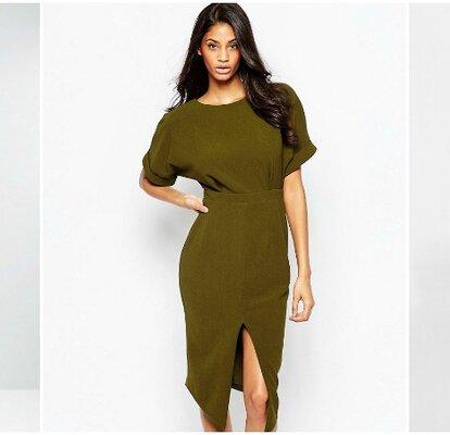 67c3745c13 Atrévete a descubrir estos vestidos de fiesta verdes cortos 2017