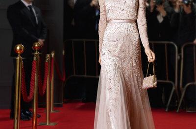 Что надеть на свадьбу? Длинные платья для приглашенных 2015