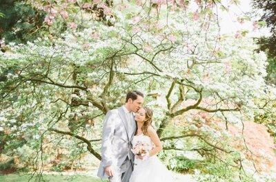 8 zauberhafte Hochzeitsbilder von echten Brautpaaren