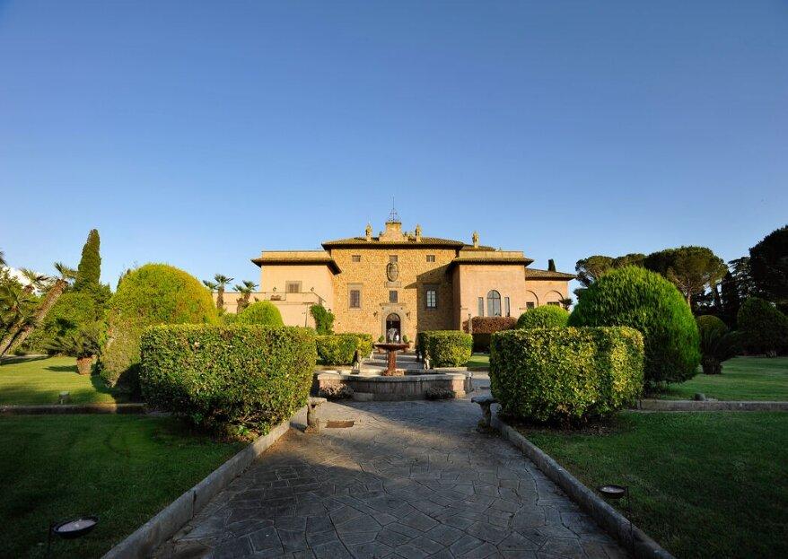 Villa Giovanelli-Fogaccia, un matrimonio dal fascino storico...