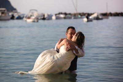 Trash the Dress, ovvero quando la fotografia di matrimonio sposa la creatività