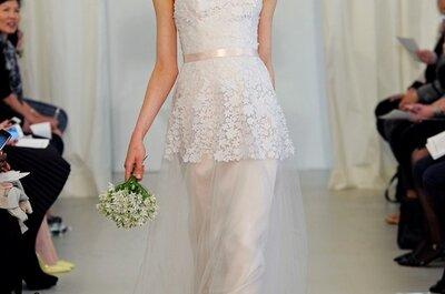 Vestidos de novia 2014 de Ángel Sánchez