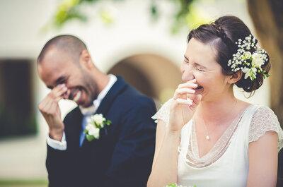 10 petites choses que fait le marié le jour de son mariage... Et que l'on adore !