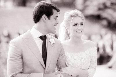 Olivia & Bernar: casamento sofisticado na fazenda é puro romantismo!