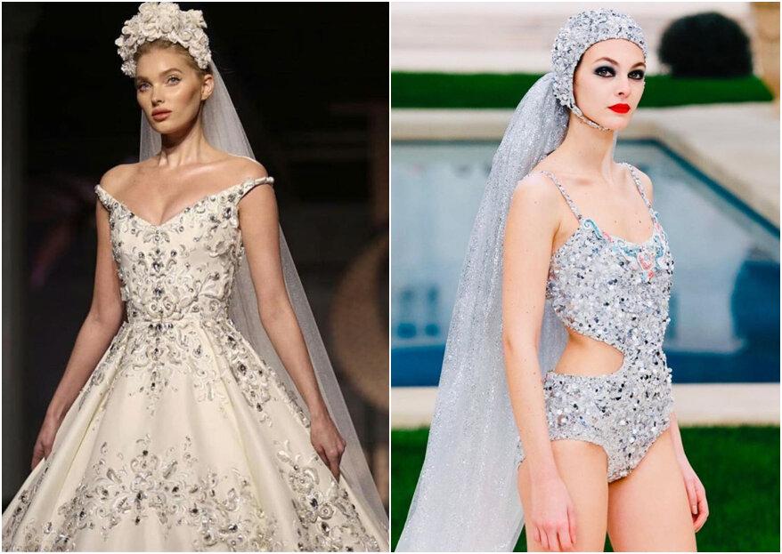 El duelo 'bridal' en la Semana de la Alta Costura en París: Chanel vs Ralph & Russo