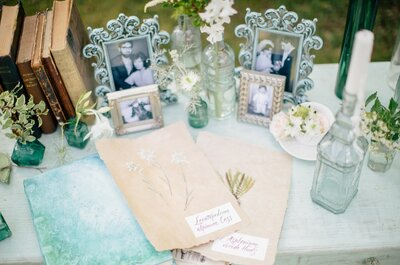 Неожиданный элемент: как использовать рамки для фотографий в декоре свадьбы?
