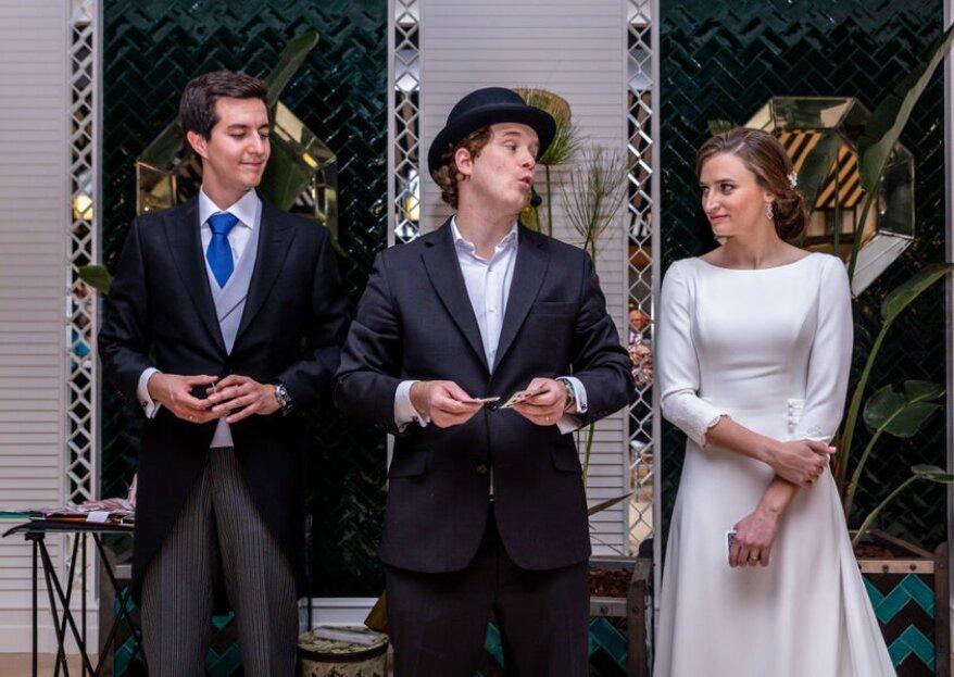 Javier Dancausa es el mago que necesitas para una boda de fantasía