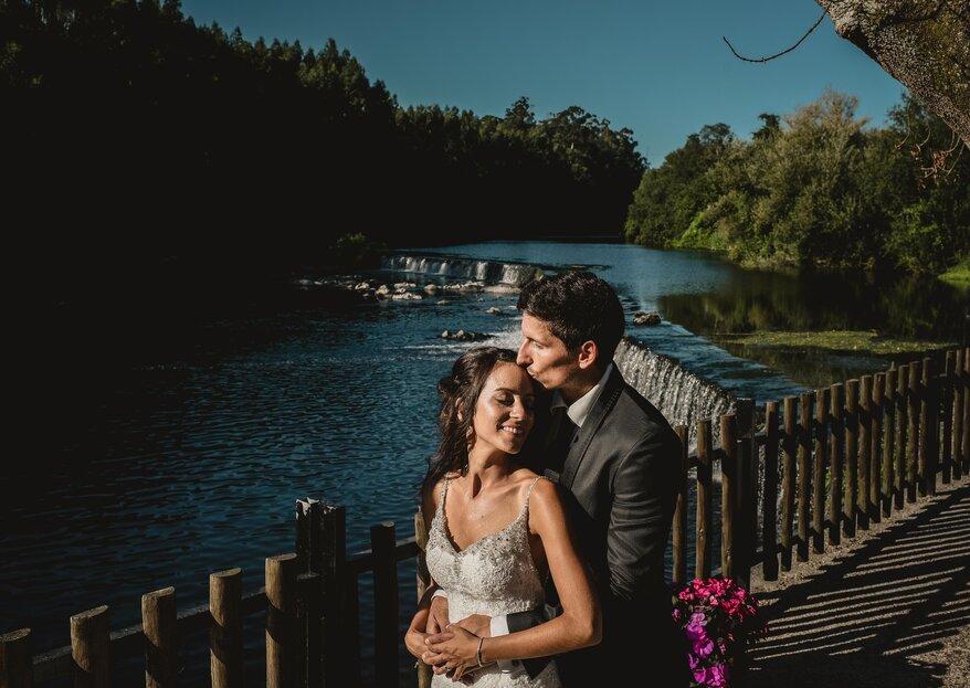 """Yasmine & Sanjin: """"foi o dia mais emocionante das nossas vidas, com as pessoas mais adoráveis do mundo"""""""
