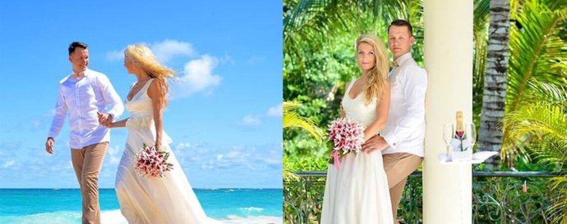 Der Traum von der Karibik: Hochzeit am Strand