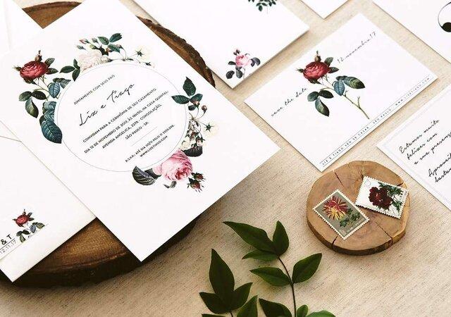 Como escolher os convites para o meu casamento em 5 passos