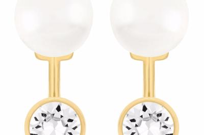 Elegant earrings for 2015 brides