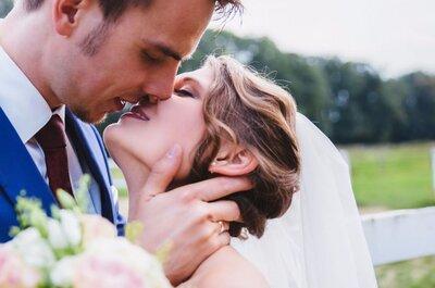 Bunte Lippen soll man(n) küssen: Frühlings-Bräute 2016 setzen auf knallige Lippenfarben für die Hochzeit!