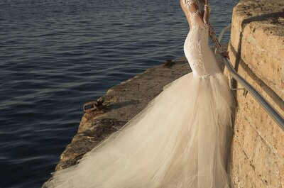 Galia Lahav alta costura: Vestidos de novia con texturas vintage, delicados textiles y enigmáticas historias de amor