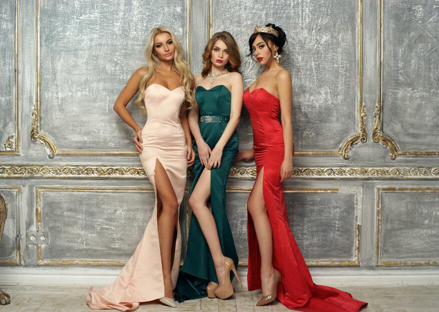 8df70c744 Rubia o morena  ¿de qué color debe ser tu vestido de fiesta  ¡Te ...