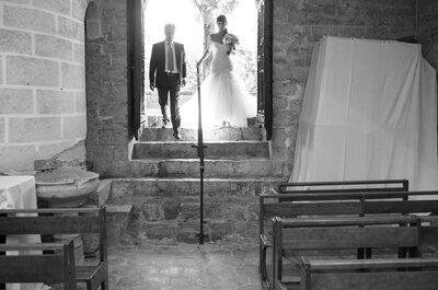 Une décoration sous le signe du soleil, revivez le mariage de Sophie et Axel !