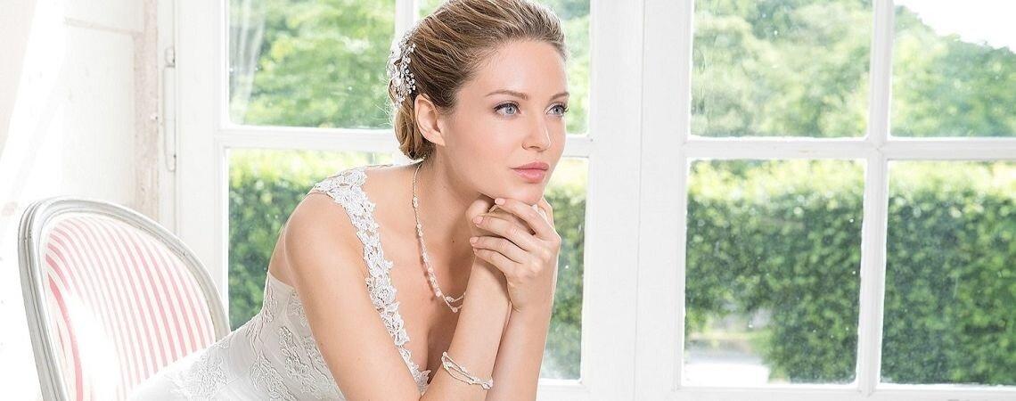 Trouver LA robe de mariée de vos rêves va être un jeu d'enfant chez Eglantine Mariages & Cérémonies