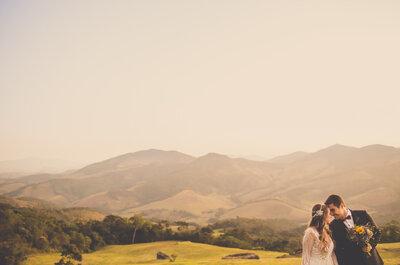 Paola & Roberto: Casamento Boho ESPETACULAR no interior de Minas Gerais