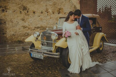 A High School Romance that became Everlasting Love: Juanma + Rosa's Wedding in Spain