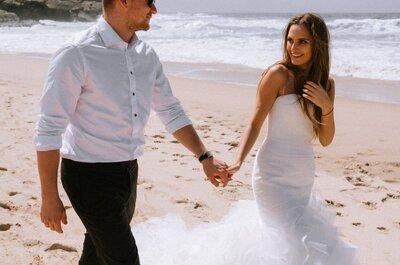 Sesja ślubna w Portugalii Pauliny i Huberta wygląda zjawiskowo! Zobacz ją!